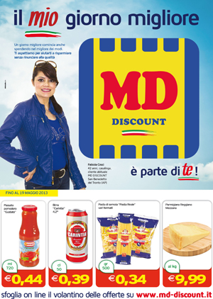 Md discount napoli fast food coupon deals for Volantino ard discount milazzo